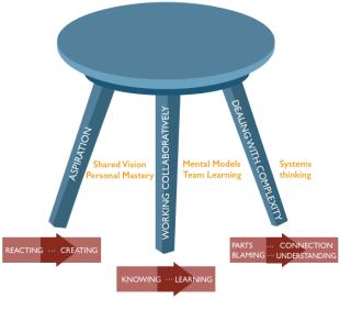 Systems thinking stool